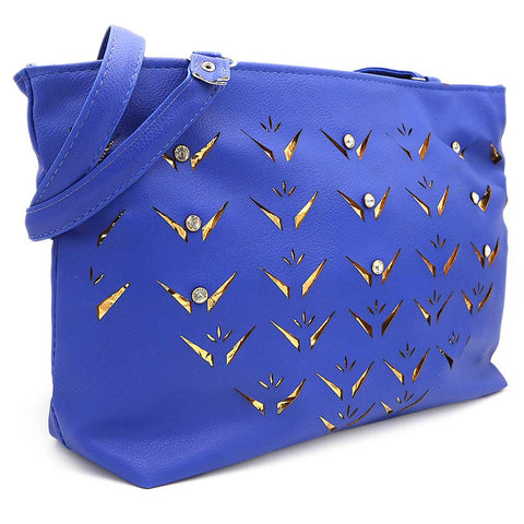 Women's Shoulder Bag ZH-49 - Royal Blue