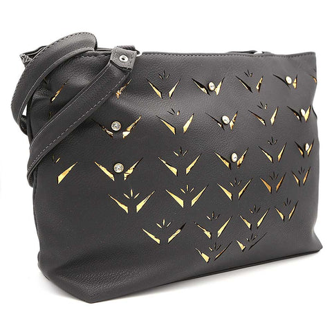 Women's Shoulder Bag ZH-49 - Black