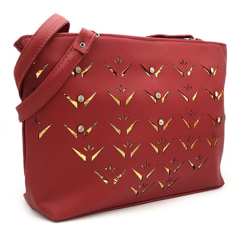 Women's Shoulder Bag ZH-49 - Maroon