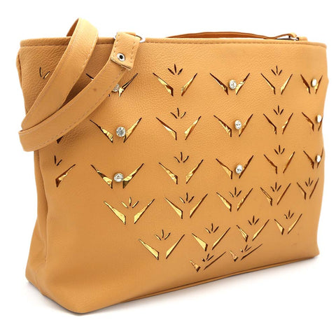 Women's Shoulder Bag ZH-49 - Camel