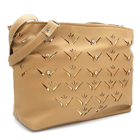 Women's Shoulder Bag ZH-49 - Beige