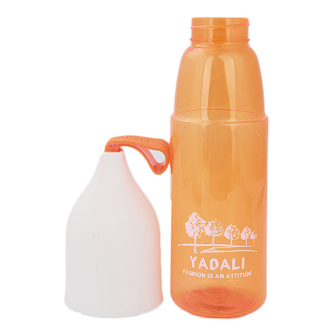 Water Bottle With Glass - Orange