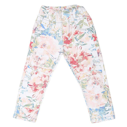 Girls Printed Pant - Multi