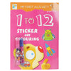 Stickers And Coloring Book - Multi