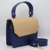 Women's Shoulder Bag 6925 - Navy Blue