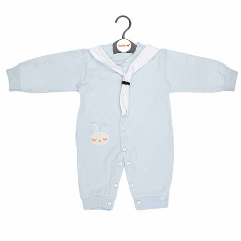 Newborn Boys Romper - Light Blue