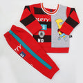 Boys Full Sleeves Fleece Suit 42716 - Red