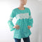 Women's Top Full Sleeves - Light Green