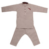 Boys Embroidered Kurta Pajama - Light Purple