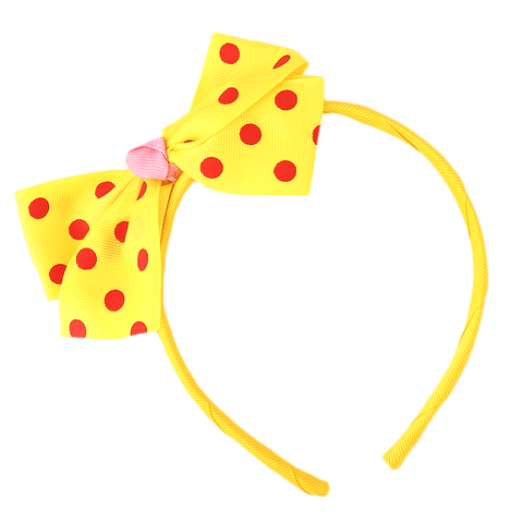Girls Headband - Yellow - test-store-for-chase-value