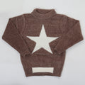 Boys Full Sleeves Sweaters JA518 - Brown