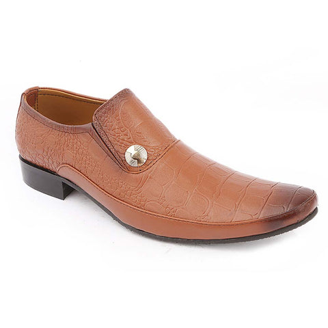 Men's Formal Shoes 763 - Mustard