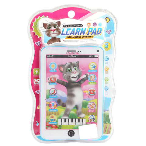 Talking Tom Learn Pad - Pink - test-store-for-chase-value