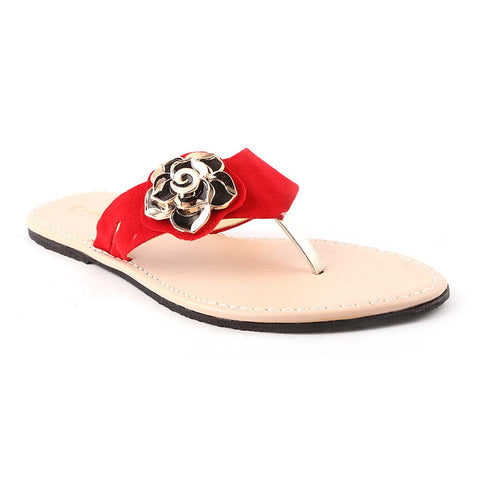 Women's Slipper (606) - Red