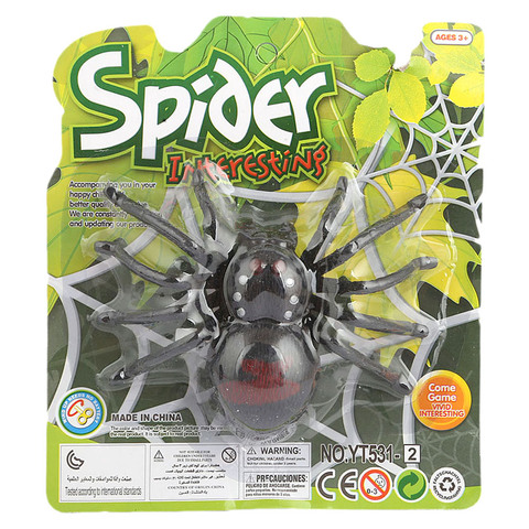 Wind Up Spider Toy - Black - test-store-for-chase-value