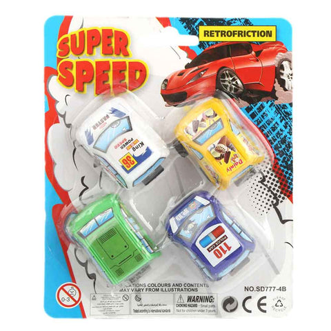 Super Speed Pull Back Cars - Multi - test-store-for-chase-value
