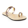 Girls Fancy Slippers 502-A - Golden