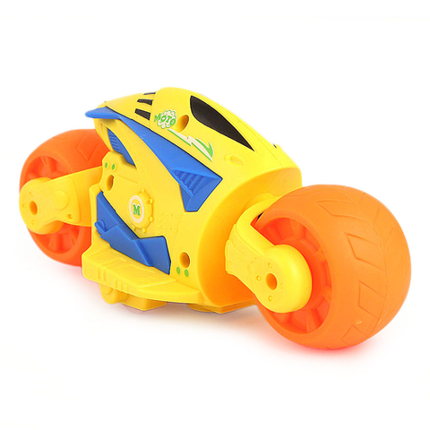 Friction Motorcycle Toy - Yellow - test-store-for-chase-value