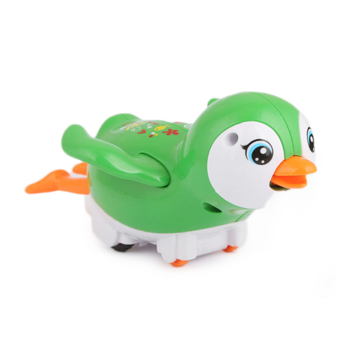 Friction Penguin Toy - Green - test-store-for-chase-value