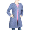 Eminent Full Sleeves Long Sweater For Women - Blue