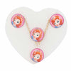 Girls Locket Set - Pink