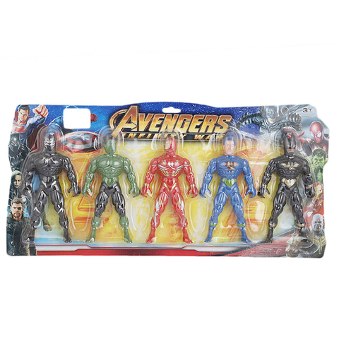 Avengers Toy Set - Multi - test-store-for-chase-value