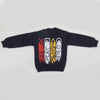 Boys Full Sleeves Fleece Sweat Shirt 8896 - Navy Blue