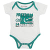 Newborn Boys Romper For 14th August - White