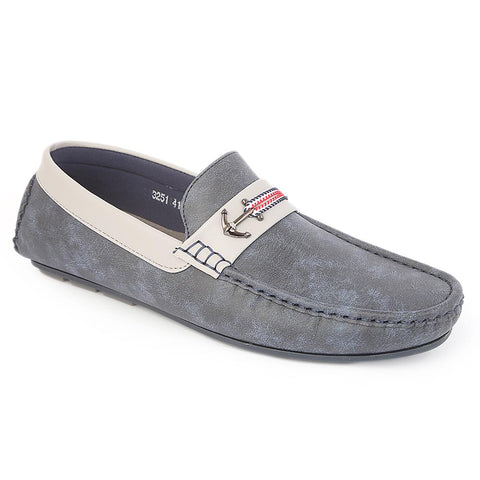 Men's Loafer Shoes 3251 - Blue