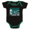 Newborn Boys Romper For 14th August - Black