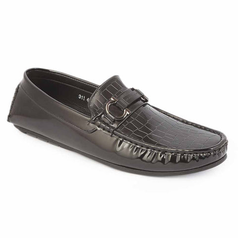 Men's Loafer Shoes 311 - Black