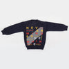 Boys Full Sleeves Fleece Sweat Shirt 8898 - Navy Blue