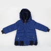 Girls Hooded Jacket - Royal Blue