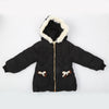 Girls Hooded Jacket - Black