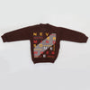 Boys Full Sleeves Fleece Sweat Shirt 8898 - Brown