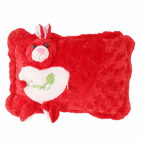 Velvet Pillow - Red