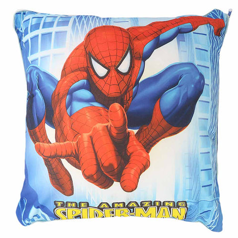 Spider Man Cushion - Blue