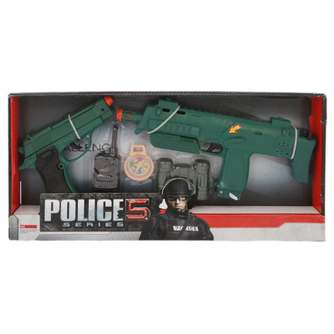 Police 5 Series - Green