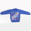 Boys Full Sleeves Fleece Sweat Shirt 8898 - Royal Blue
