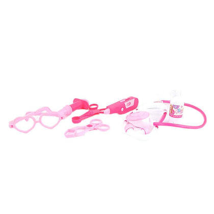 Doctor Set Toy 7 Pcs - Pink - test-store-for-chase-value
