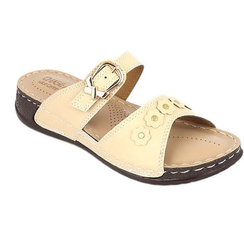 Women's Softy Slipper ( S32 ) - Beige