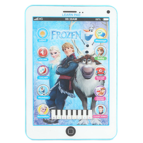 Frozen Learn Pad - Blue - test-store-for-chase-value