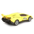 High Speed Car With Music And Light For Kids - Yellow - test-store-for-chase-value