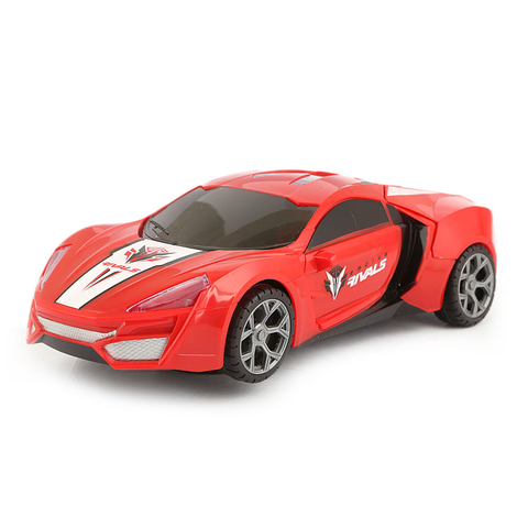 High Speed Car With Music And Light For Kids - Red - test-store-for-chase-value