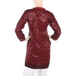 Women's Fancy Chicken Kurti - Maroon