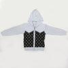 Boys Full Sleeves Sweaters JA512 - Light Grey