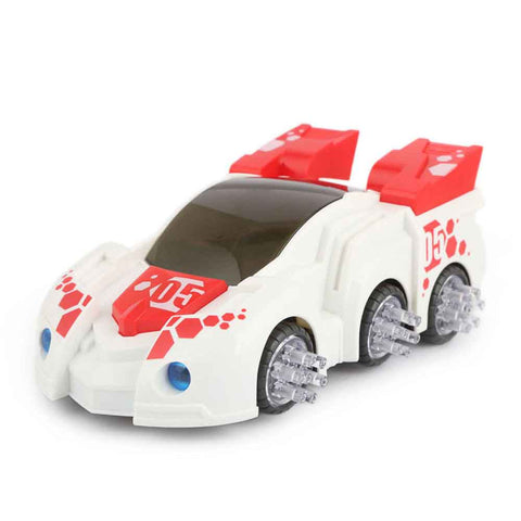 Coaster Car With Music And Light For Kids - White - test-store-for-chase-value