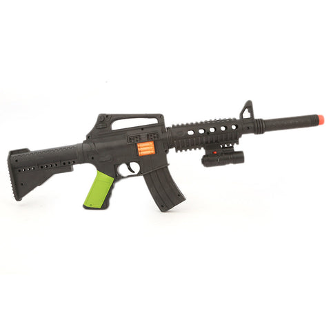 Military Fight Gun - Black