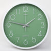 Round Shape Analog Wall Clock 10414 - Green