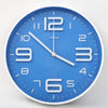 Round Shape Analog Wall Clock 10401 - Blue